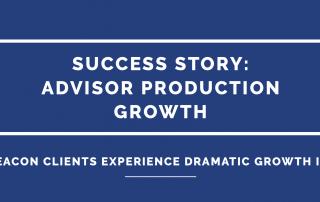 advisor production growth