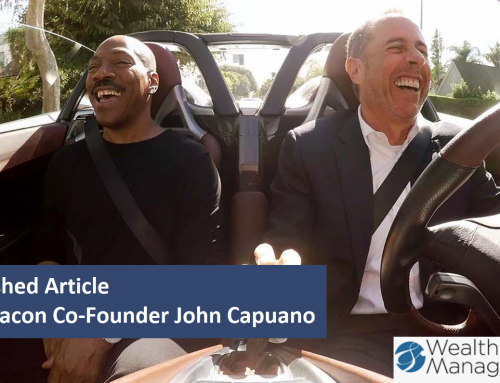 Published Article: Financial Advisor Tips From 'Comedians in Cars Getting Coffee'